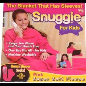 Snuggie Pink Blanket